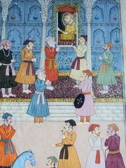 Старинная индийская(могольская) миниатюра