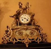 Старинные часы!! идеальное состояние