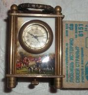 Старинные  миниатюрные,  каретные часы  Омега 1882 год,  Швейцария