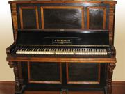 Пианино,  19 век.