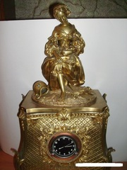 Часы каминные 19 века