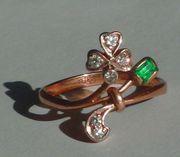Продам кольцо ручной работы золото