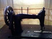 Старинная швейная машинка Biesolt Locke Meissen 1870 г.